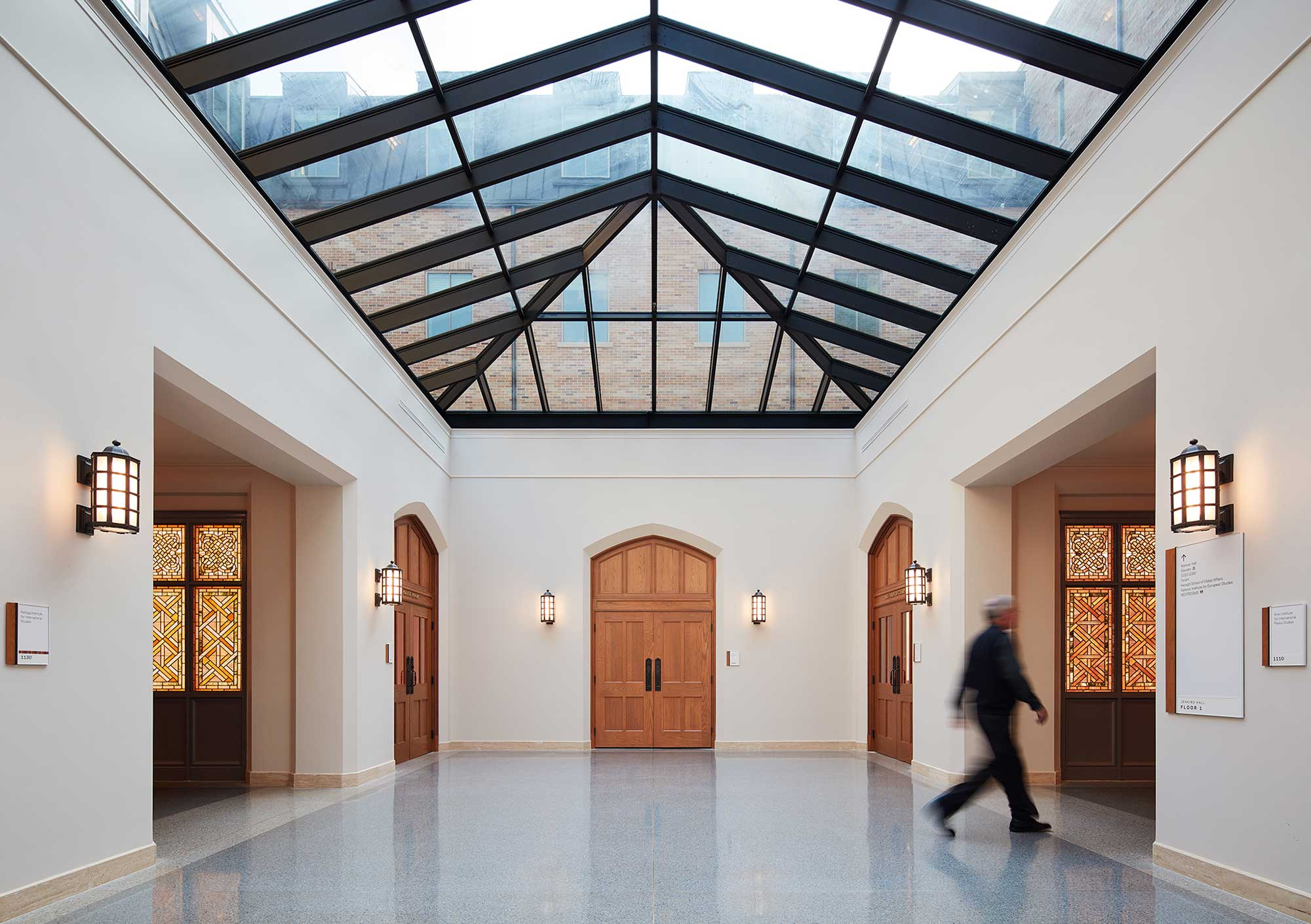 """Featured image for """"Jenkins and Nanovic Halls Interior Construction"""""""