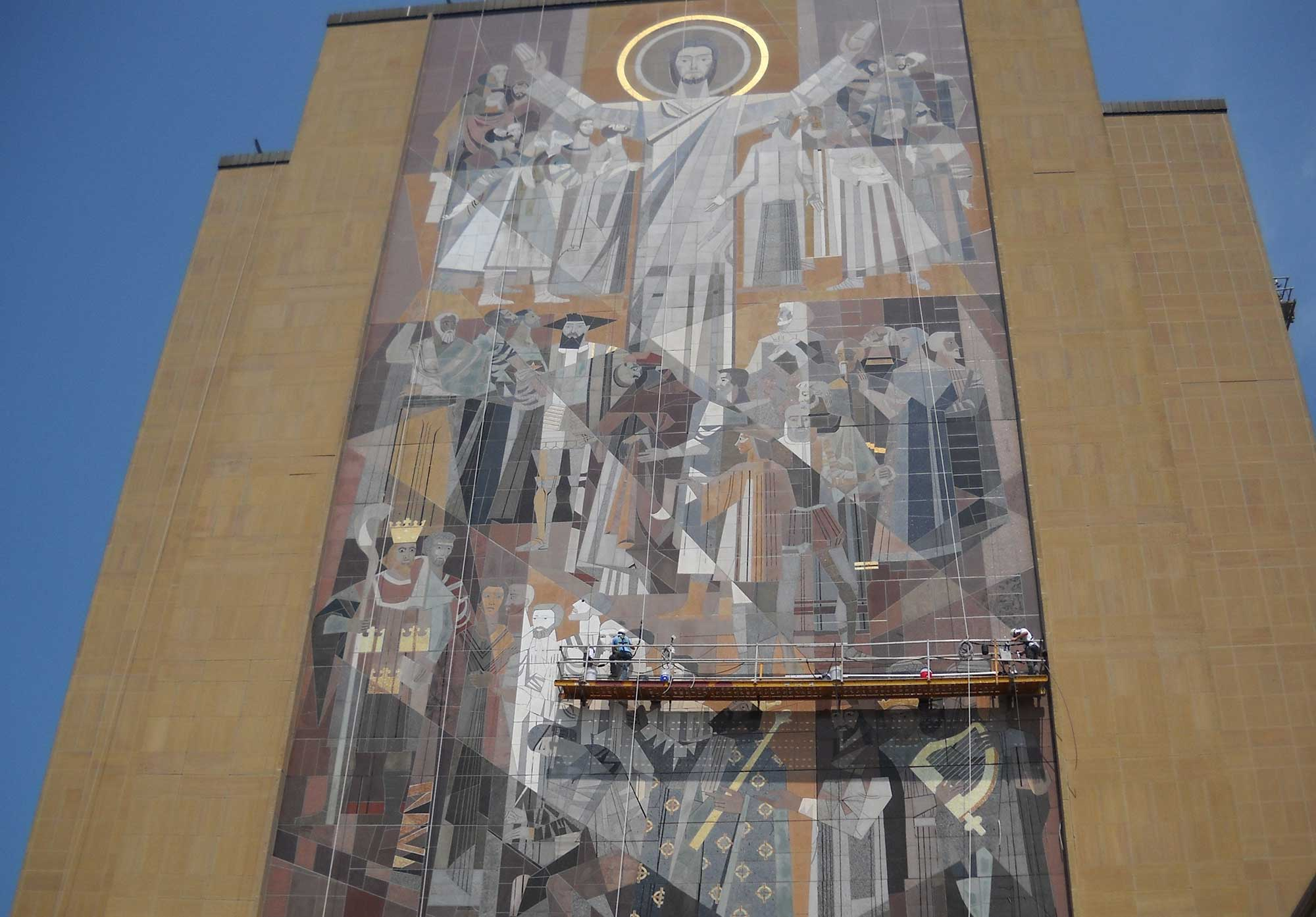 "Featured image for ""Hesburgh Library Restoration"""