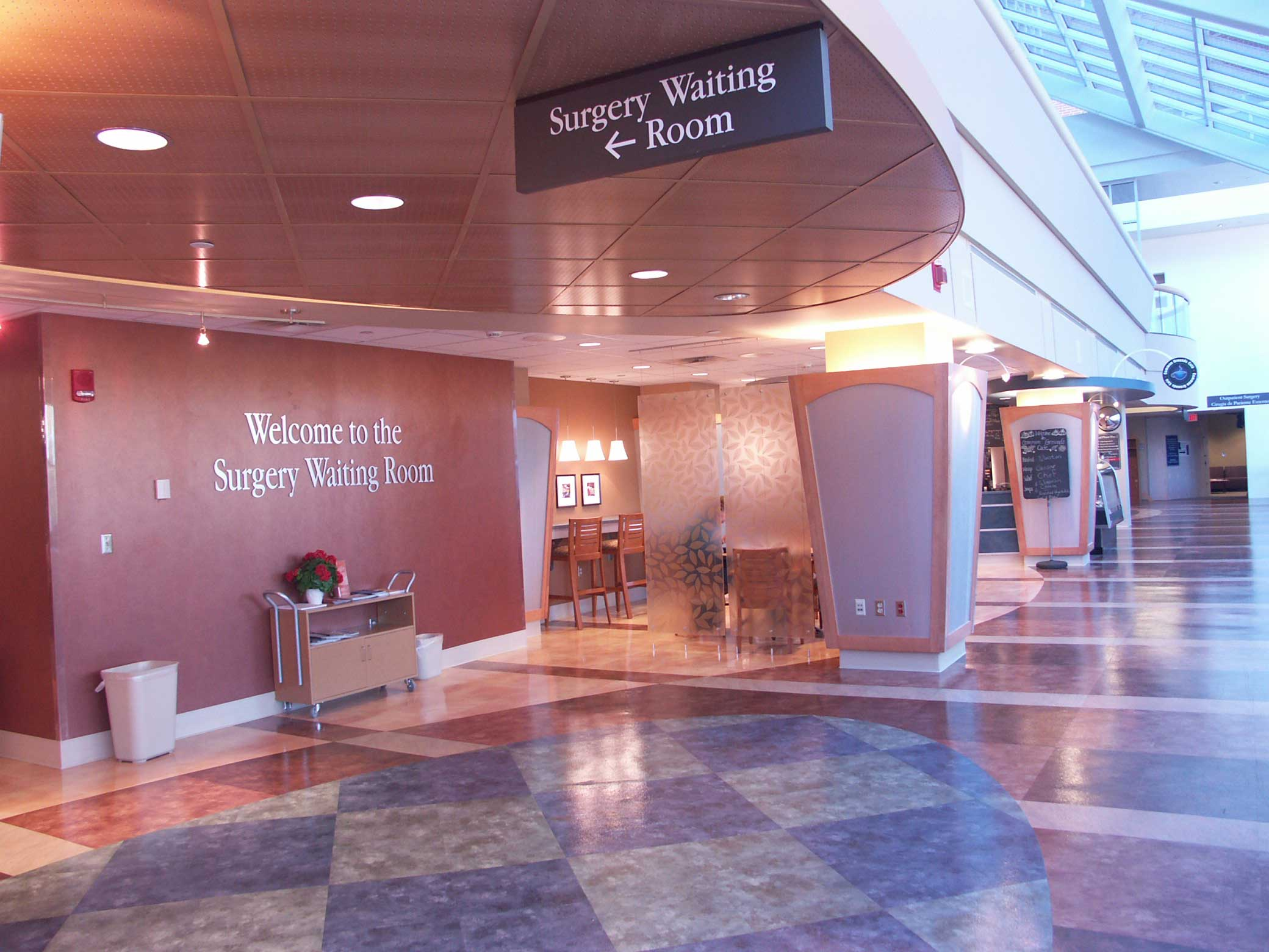 """Featured image for """"Memorial Hospital's Surgery Center Waiting Room"""""""